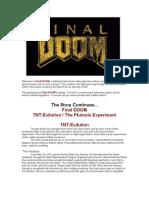 Final DOOM Manual