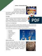 Ciencia y Tecnología Maya