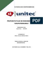 Proyecto Final -Plan de Endomarketing - Jorge Corea 21013315