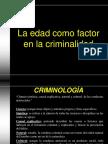Edad Como Factor en La Criminalidad