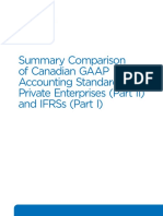 G10161 RG Summary Comparison Canadian GAAP ASPE IFRS January 2017