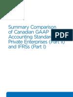 G10161 RG Summary Comparison Canadian GAAP ASPE IFRS January 2017