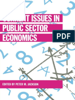[Current Issues in Economics] Peter M. Jackson (eds.) - Current Issues in Public Sector Economics (1992, Macmillan Education UK).pdf