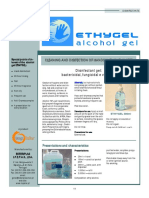 ETHYGEL - Alcohol Gel - Toplabs Catalog