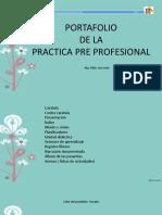 Portafolio de La Práctica Pre Profesional