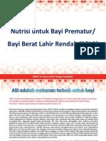 BBLR Prematur Material