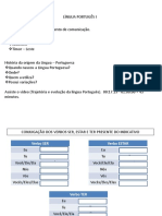 Língua Português i.