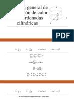 Ecuacion General de Calor (Coordenadas Cilíndricas)