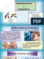 Antiparkinsonianos y Antipsicoticos
