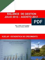 Balance de Gestion Dircetur Amazonas Pd