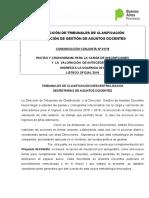 Conjunta01-18 Pautas Ingreso 2018- 2019