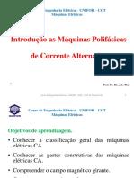 AULA 03 Maquinas Eletricas-UNIFOR CCT