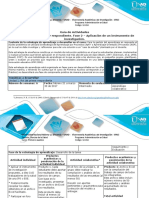 Guía de Actividades y Rubrica de Evaluación - Fase 2_Aplicación de Un Instrumento de Investigación