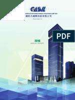 CASIL FS 2016FY Financial Report