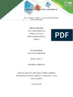 Caracterizacion de Contaminantes Atmosfericos