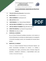 PLAN de Practicas Pre Profesionales 2017 I