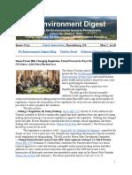 PA Environment Digest May 7, 2018