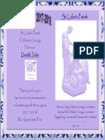 danielle childrens liturgy volunteer certificate 2018