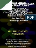 MULTIPLICACIÓN-DIVISIÓN