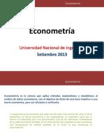 Econometría Uni