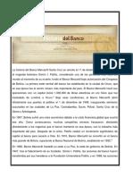 Historia Del Banco