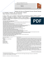 Evidence-based Recommendations for the Use of Negative Pressure Wound Therapy