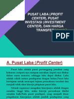 Pusat Laba (Profit Center), Pusat Investasi