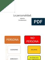 1. La Personalidad y Publicidad