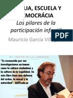 (Graficas inspiradas en) Familia, Escuela y Democracia - Mauricio Garcia Villegas