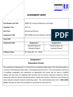 Assignment Brief HNBS 327