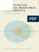 Quantitative Mineral Resource Assessments_An Integrated Approach--Donald Singer, W. David Menzie
