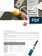 Acoples Para Equipos de Granallado Portatiles Por Aire Comprimido Cymmateriales