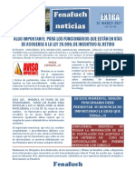 Extra Fenafuch Noticias 31 Marzo 2017 Ley 20.996