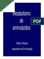 Metabolismo de los aminoácidos.Síntesis de aminoácidos no escenciales y degradación de los esqueletos carbonados. (5-09-11).pdf