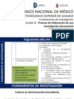FI - U4 Proceso de Elaboracion de Una Investigacion Documental