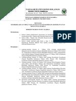 Pedoman Pengorganisasian Rumah Sakit Dan Unit Kerja