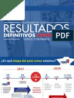 Presentacion Resultados Definitivos Censo2017