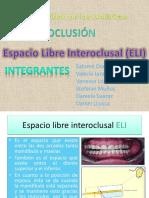 110617320 Espacio Libre Interoclusal ELI