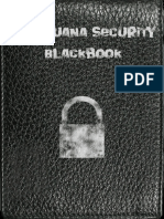 Marijuana Security Blackbook