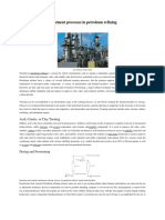 Treatment Processes in Petroleum Refining