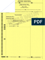 May 5th Ballot for Austin County