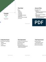 Python Intro Printable