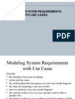 Modeling Requirements With Use Cases