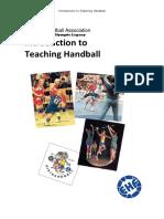 Ehf Introduction to Teaching Handball