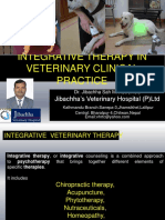 Integrative Therapy in Veterinary Clinical Practice by Dr.Jibachha Sah