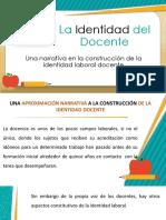 La Identidad Del Docente Presentacion Gavimic