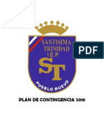 Plan de Contingencia 2018