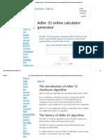 Adler 32 checksum algorithm
