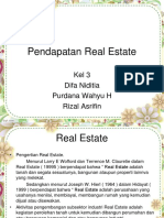 AKM Pendapatan Real Estate