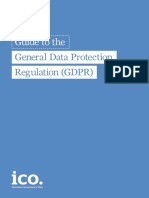 Guide to the General Data Protection Regulation GDPR 1.0